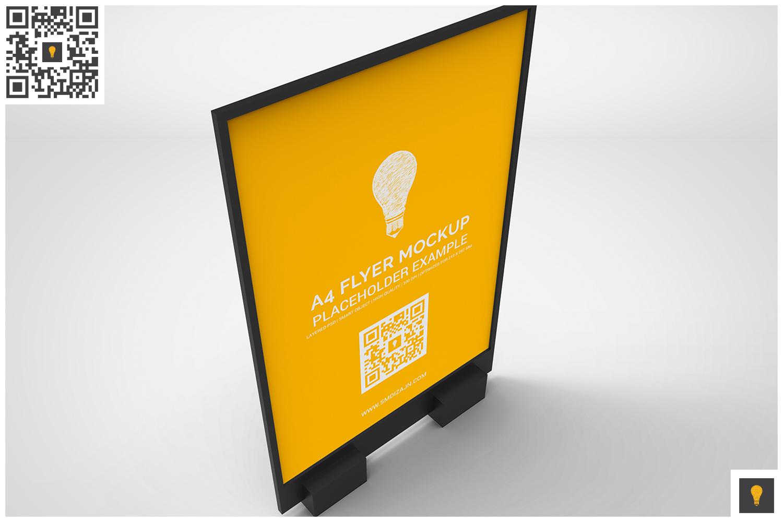 Flyer Display Mockup example image 4