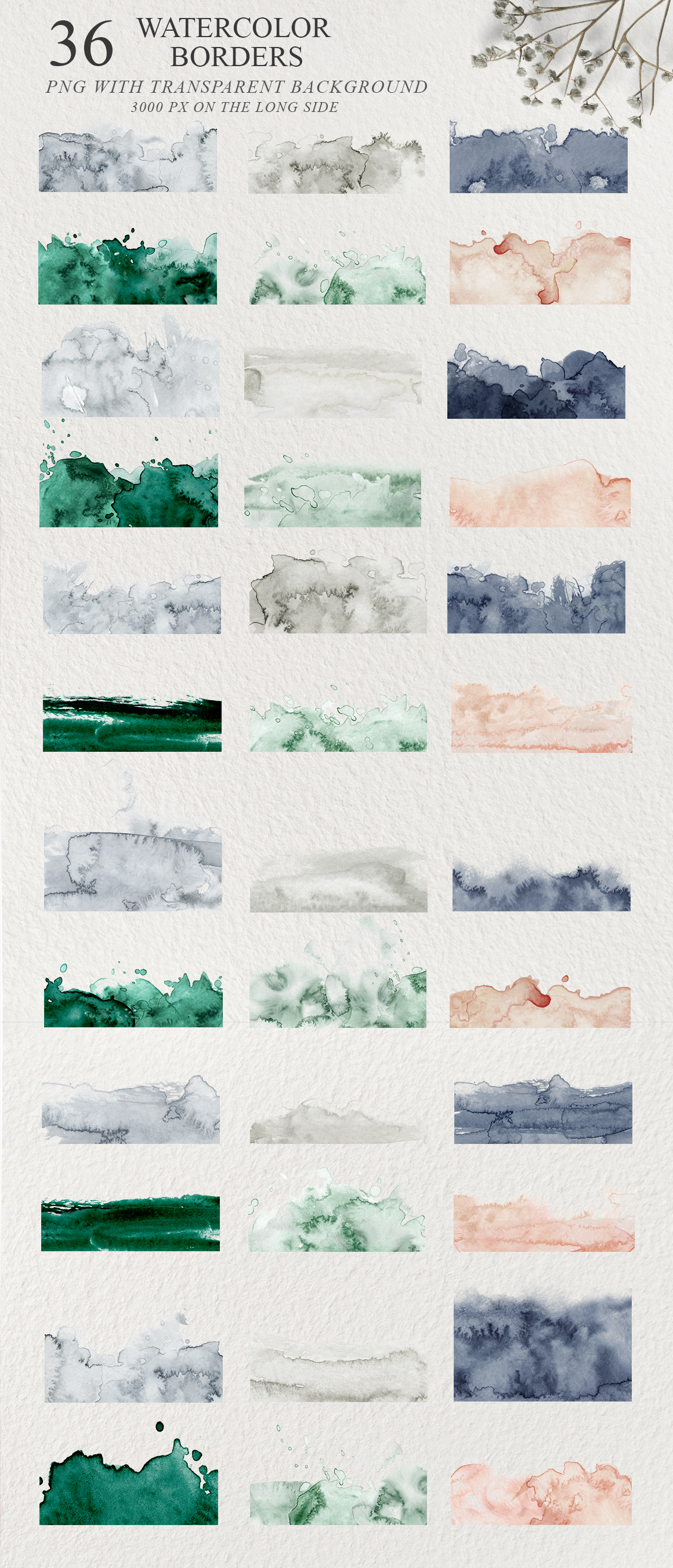 Elegant Watercolor Backgrounds example image 8