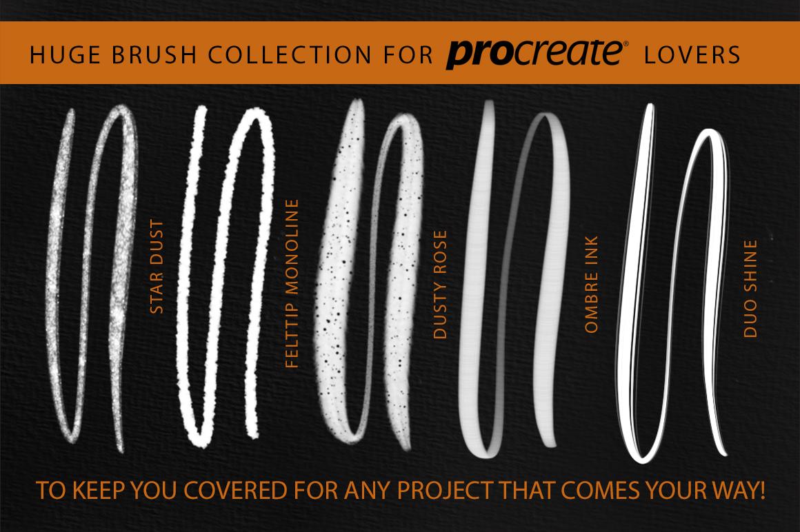 Better Letter. Procreate Brush Set. example image 8