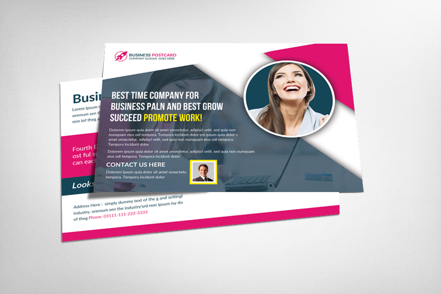 Multiuse Business Postcard Template example image 1