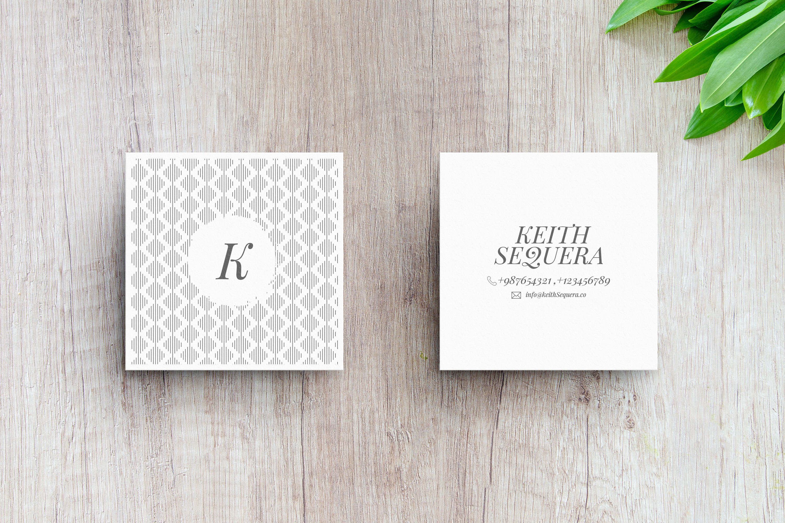 Business Card MockUps with Templates example image 5