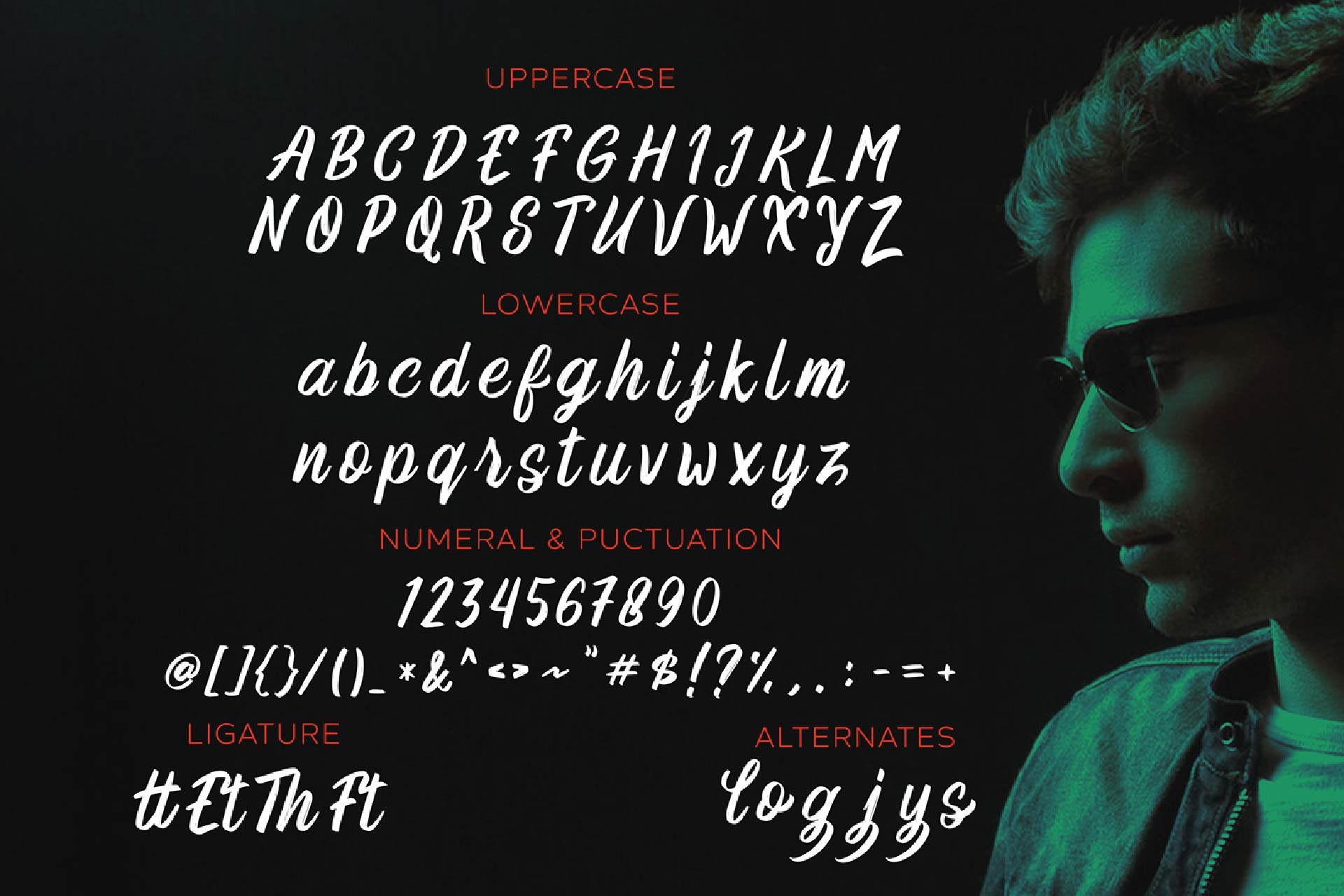 Robert Buso - Brush Font example image 4