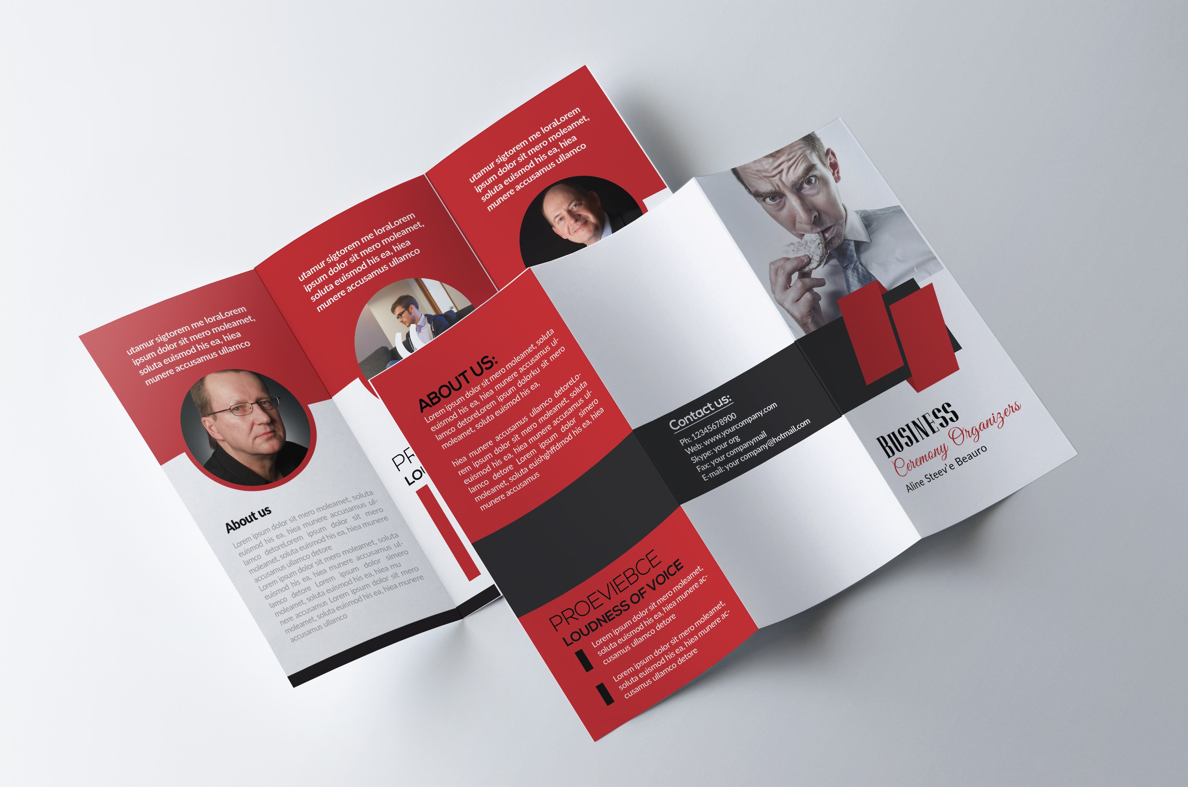 5 Trifolds Brochures Templates Bundle example image 4