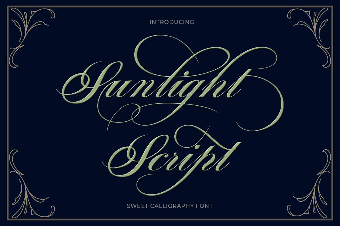 Modern Script Font Bundle example image 19