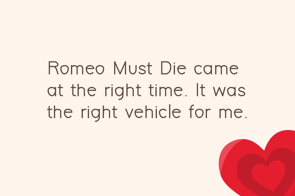 Romeo example image 2
