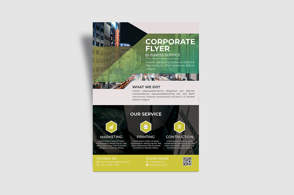 Service Corporate Flyer example image 6
