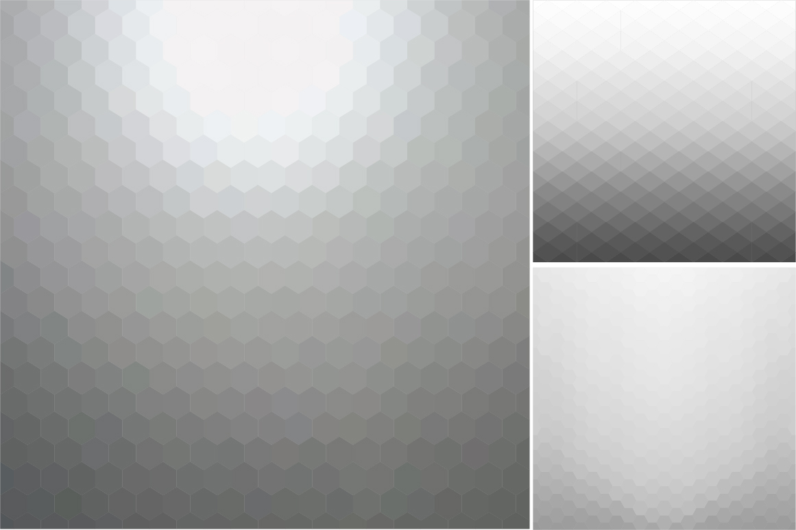 Gray abstract vector backgrounds. example image 4