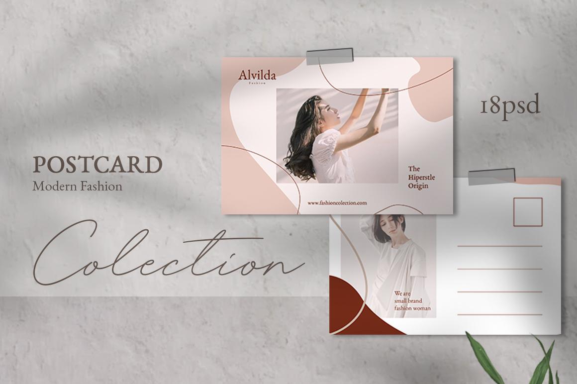 Alvida Postcard Templates example image 1