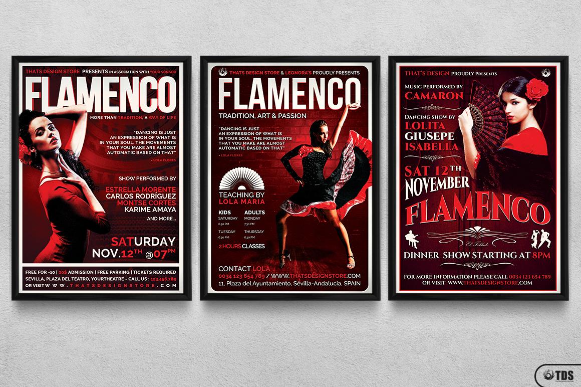 Flamenco Flyer Bundle V1 example image 11