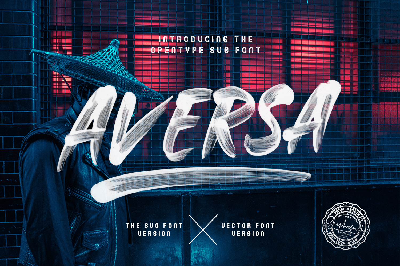 Aversa SVG Font example image 1