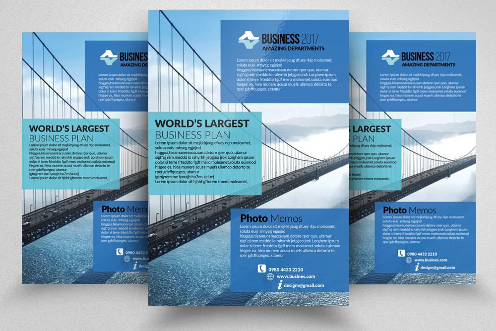 10 Corporate Flyer Templates Bundle example image 9