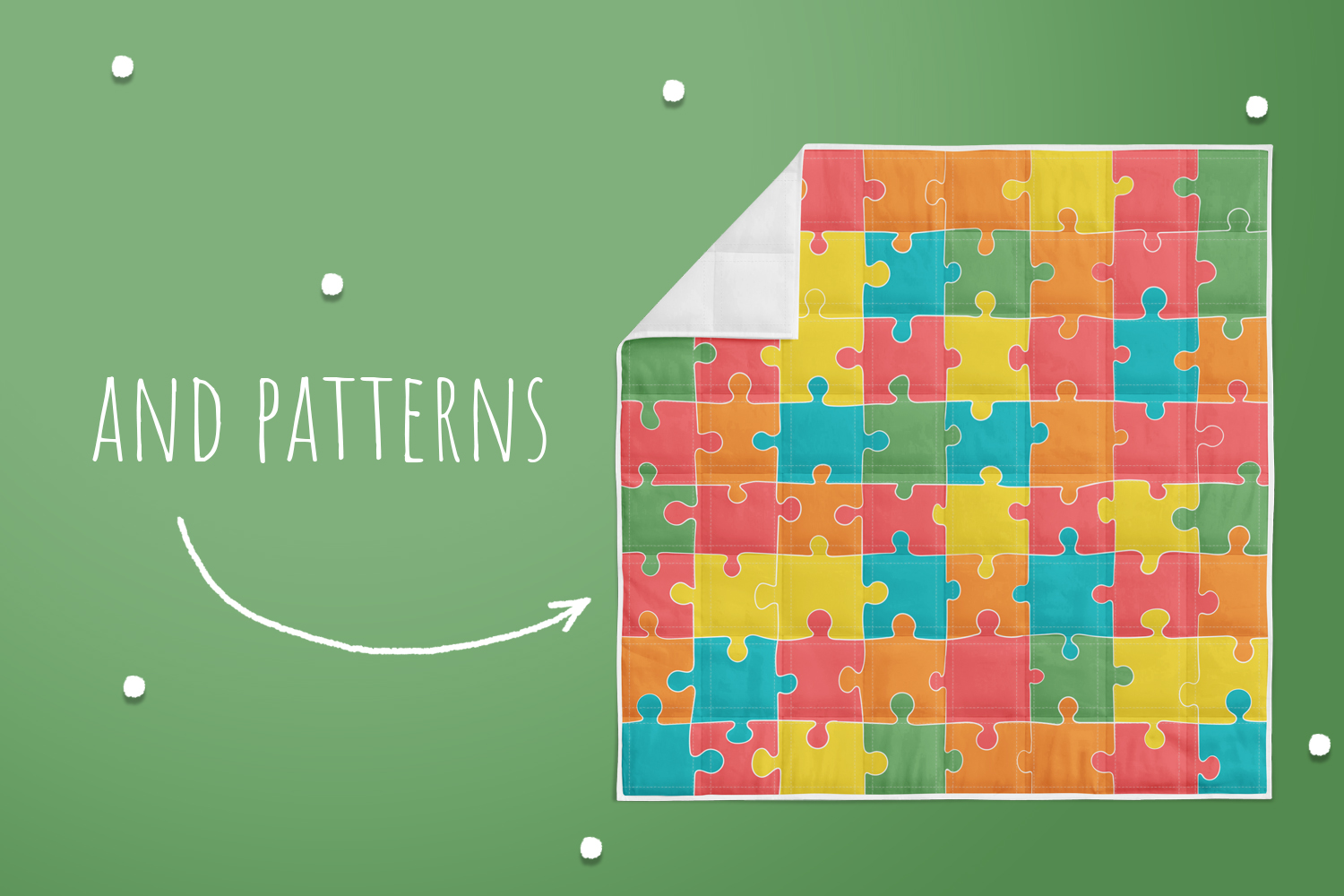 Jigsaw Puzzle Pieces example image 4