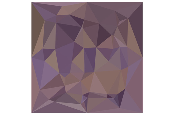 Medium Purple Abstract Low Polygon Background example image 1