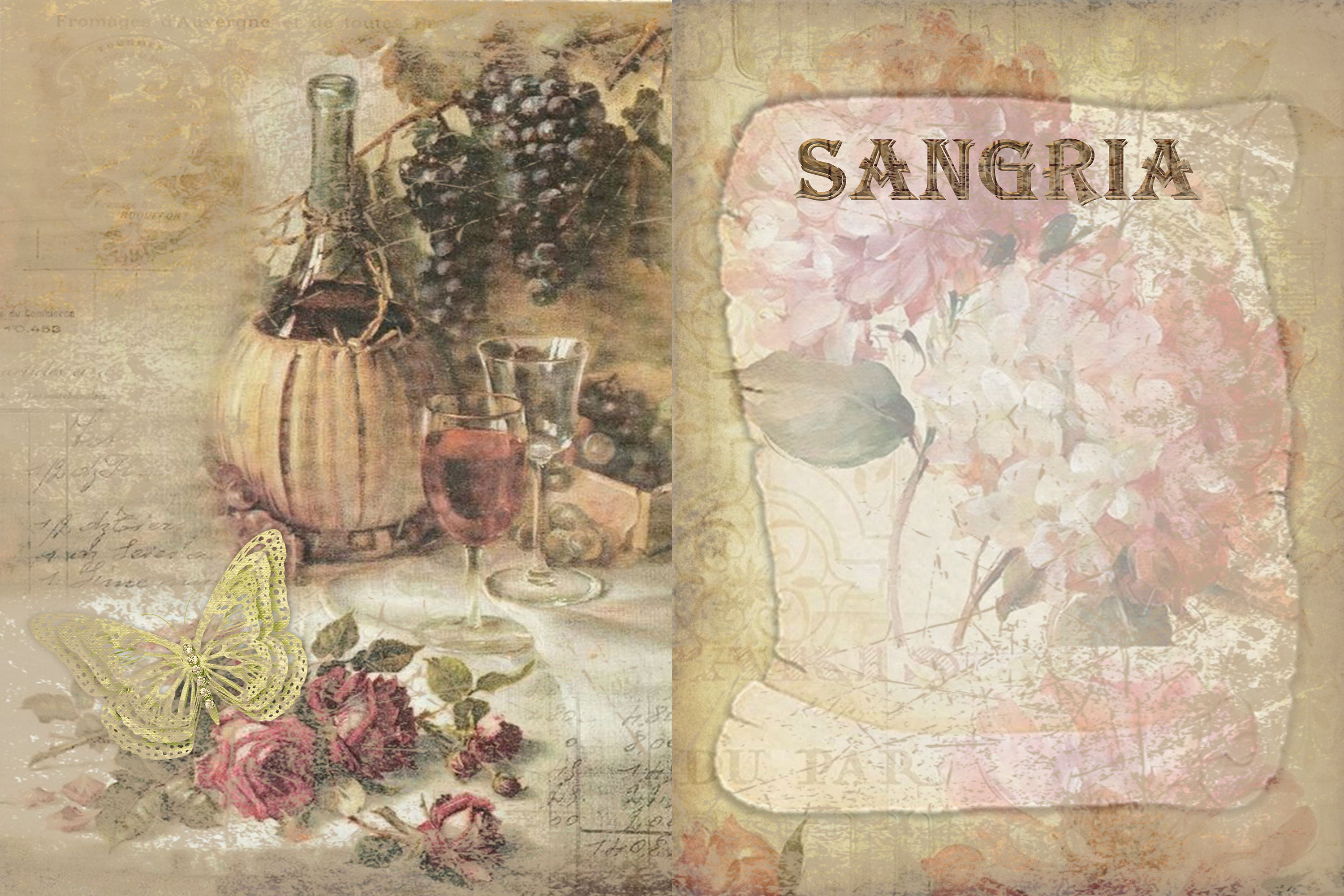 10 Wine Journaling backgrounds printable commercial use example image 3