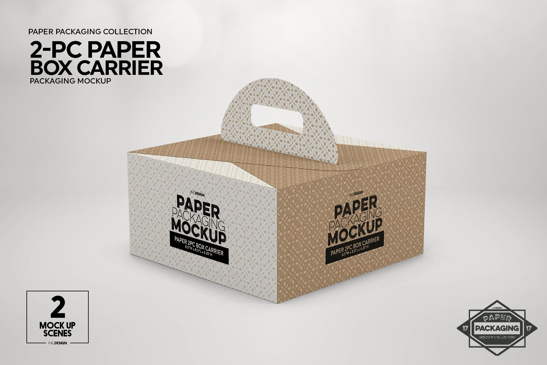 VOL. 17 Paper Box Packaging Mockups example image 11