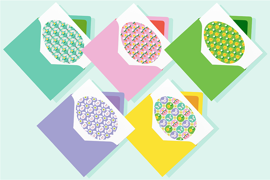 Easter Icons, Eggs & Patterns example image 3