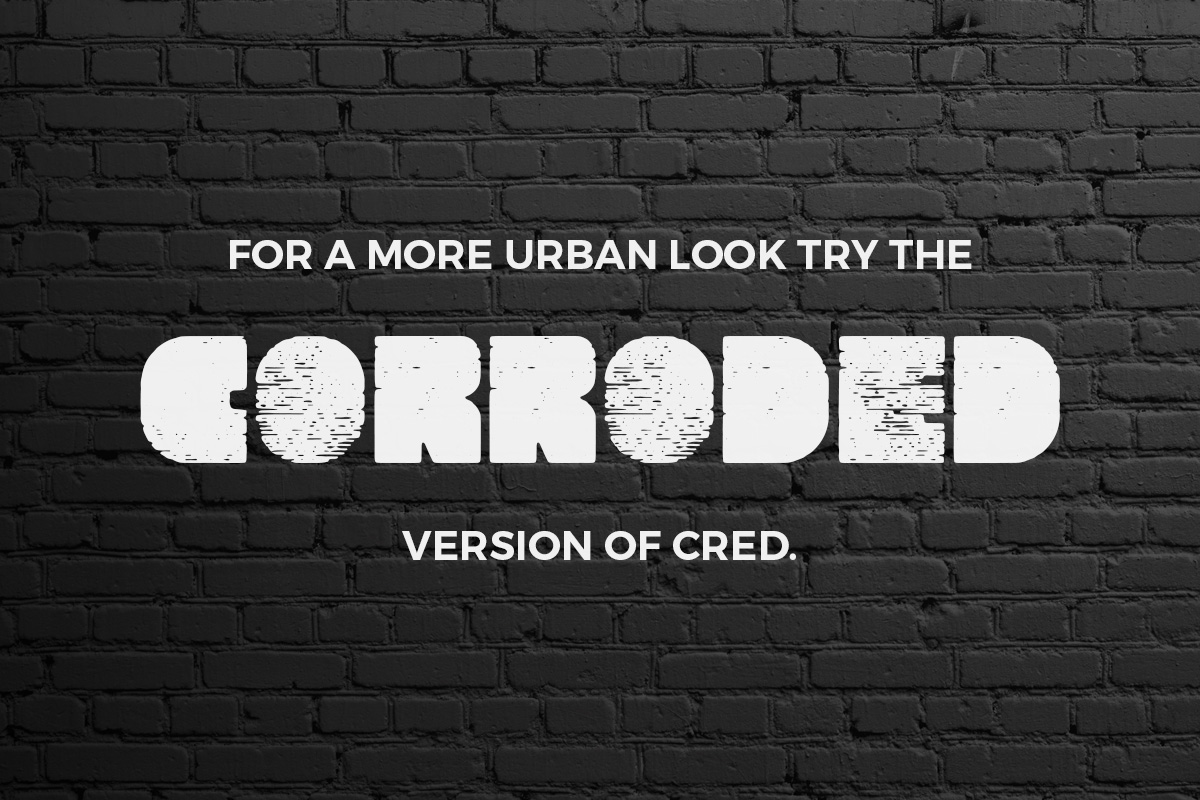 Cred Typeface example image 2