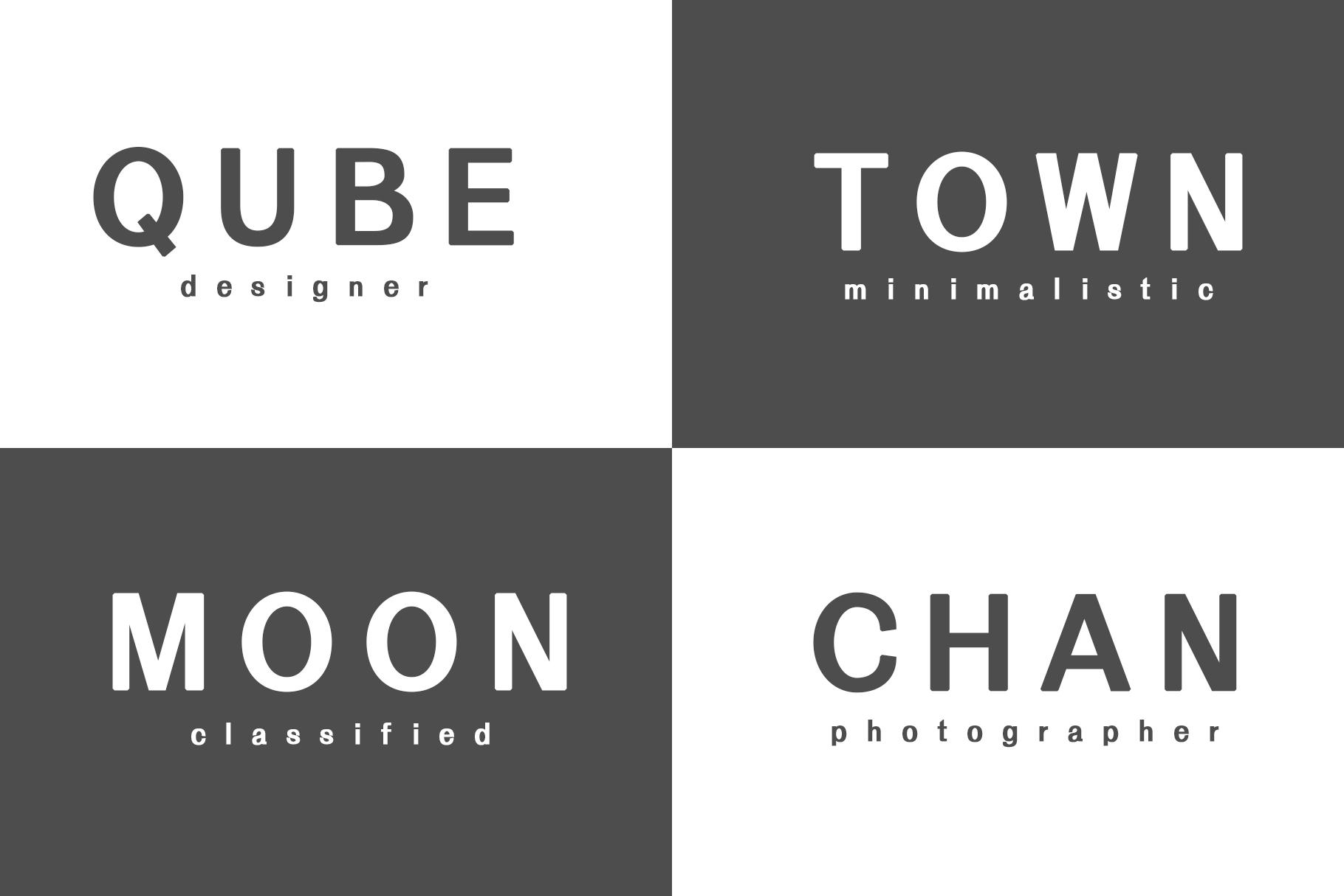 Daaron Sans Serif Font Family example image 9