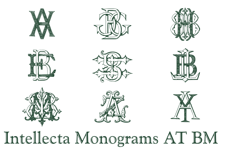 IntellectaMonograms AT BM example image 3