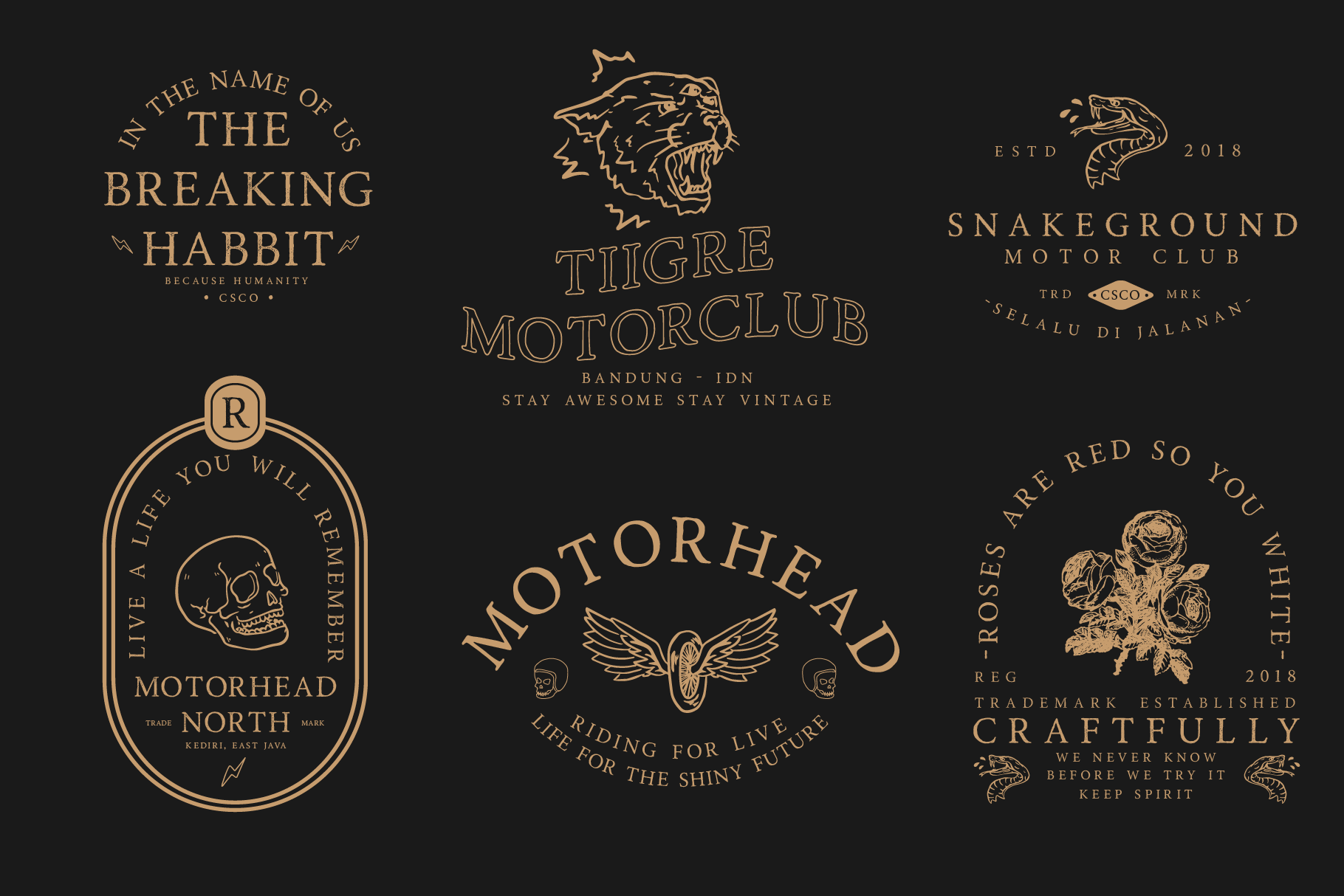 Road Race Font Family Extras example image 2