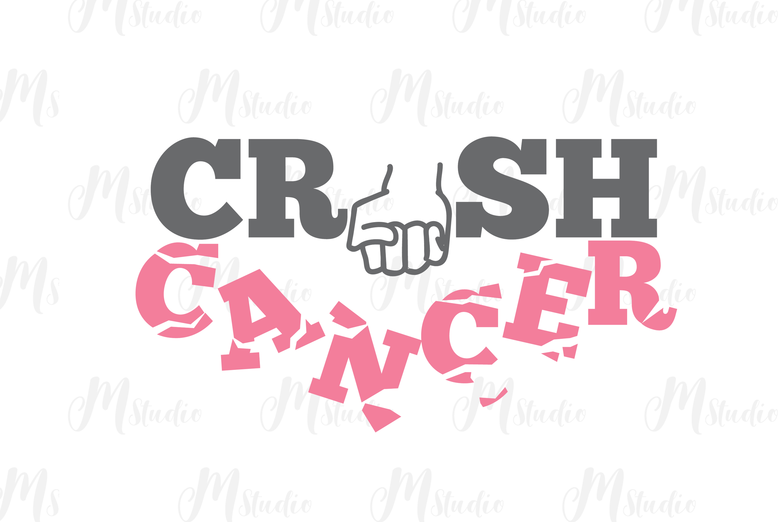 Cancer Awareness bundle SVG example image 19