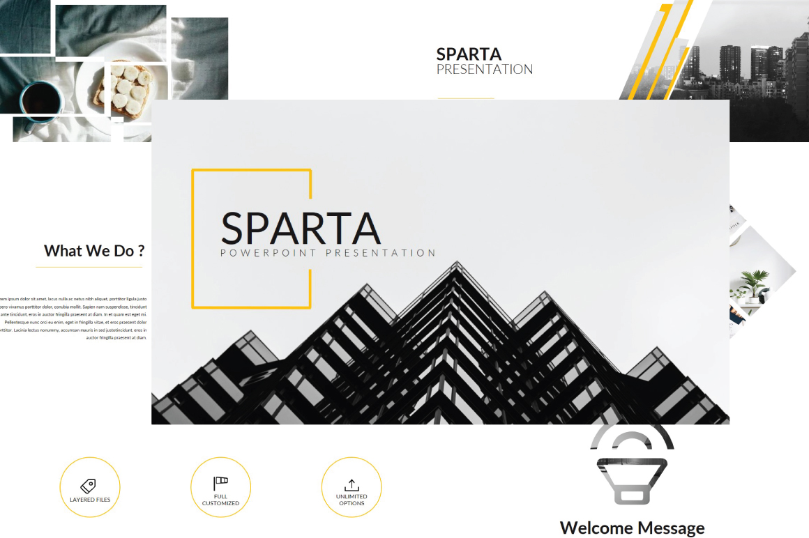 Sparta MNML Keynote Template example image 1