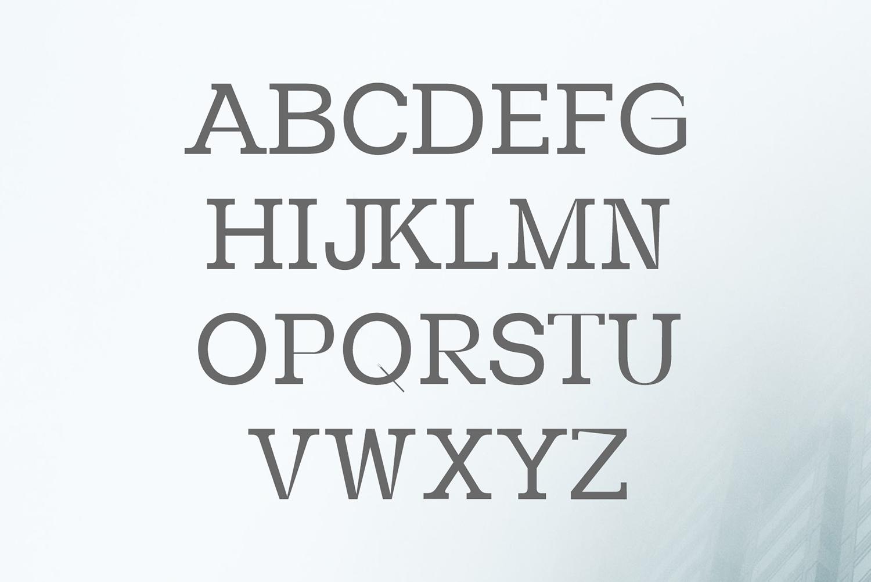 Paulose Modern Serif Font Family example image 2