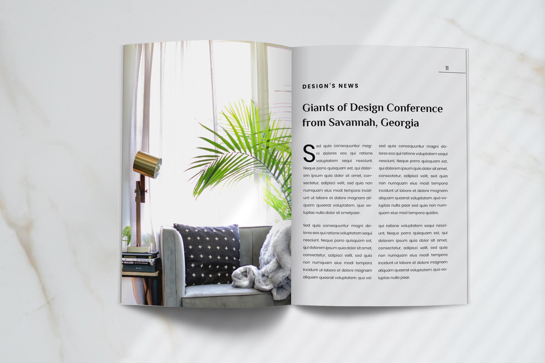 Futura - Interior Magazine Template example image 5