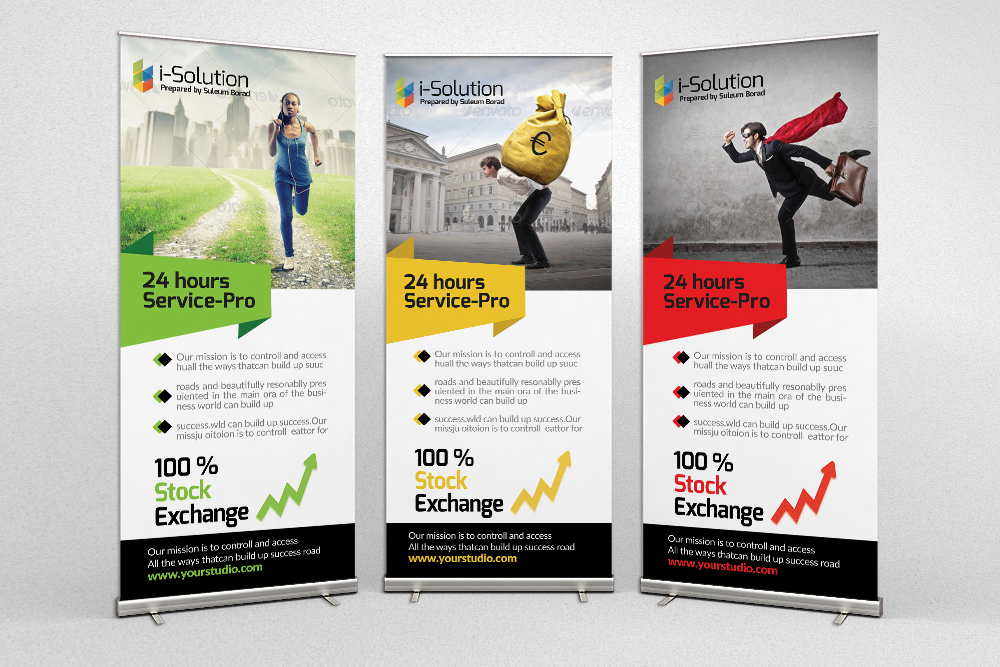 Business Corporate Roll Up Banners example image 1