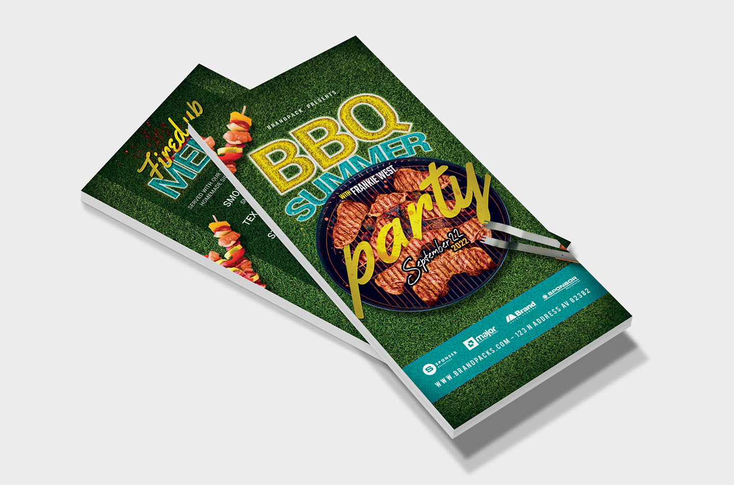 BBQ Cookout Flyer Template example image 7
