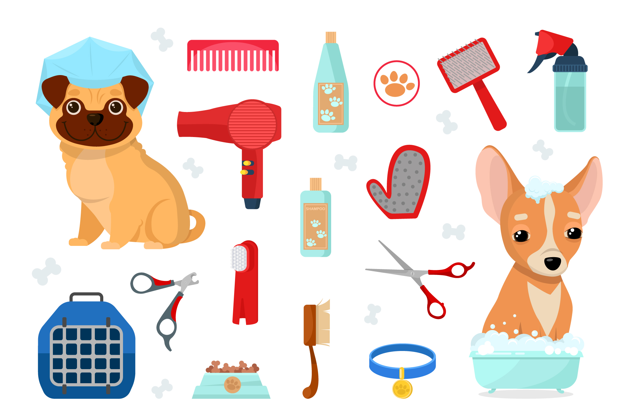 Dog grooming example image 2