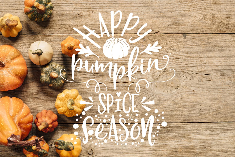 Thanksgiving bundle Gobble Pumpkins Turkey Fall example image 2