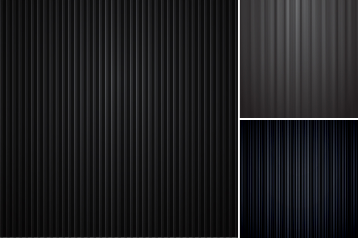 Colleciton of black striped textures example image 7