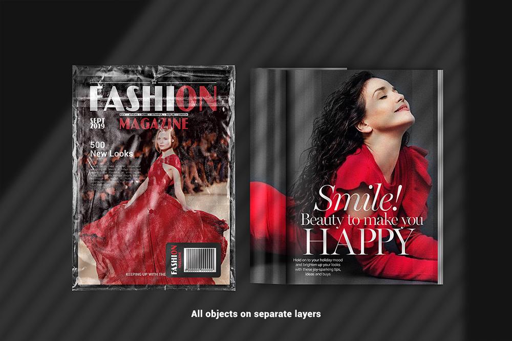 A4 Magazine Scene Mockup example image 2