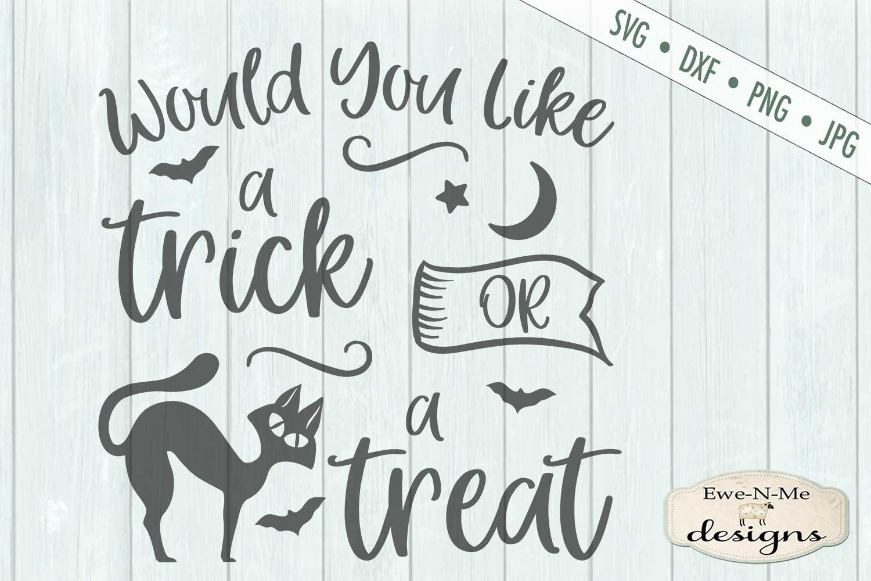 Halloween Mini Bundle - Trick or Treat - Black Cat - SVG DXF example image 13