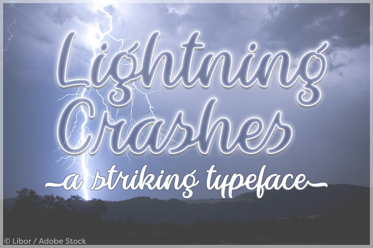 Lightning Crashes example image 1
