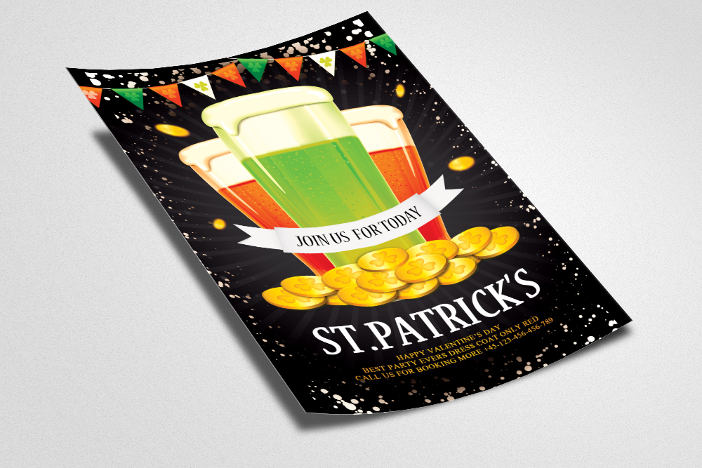 St. Patricks Day Flyer example image 2