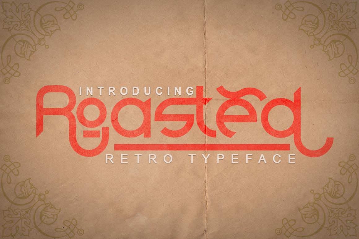 Roasted - Retro Typeface example image 1