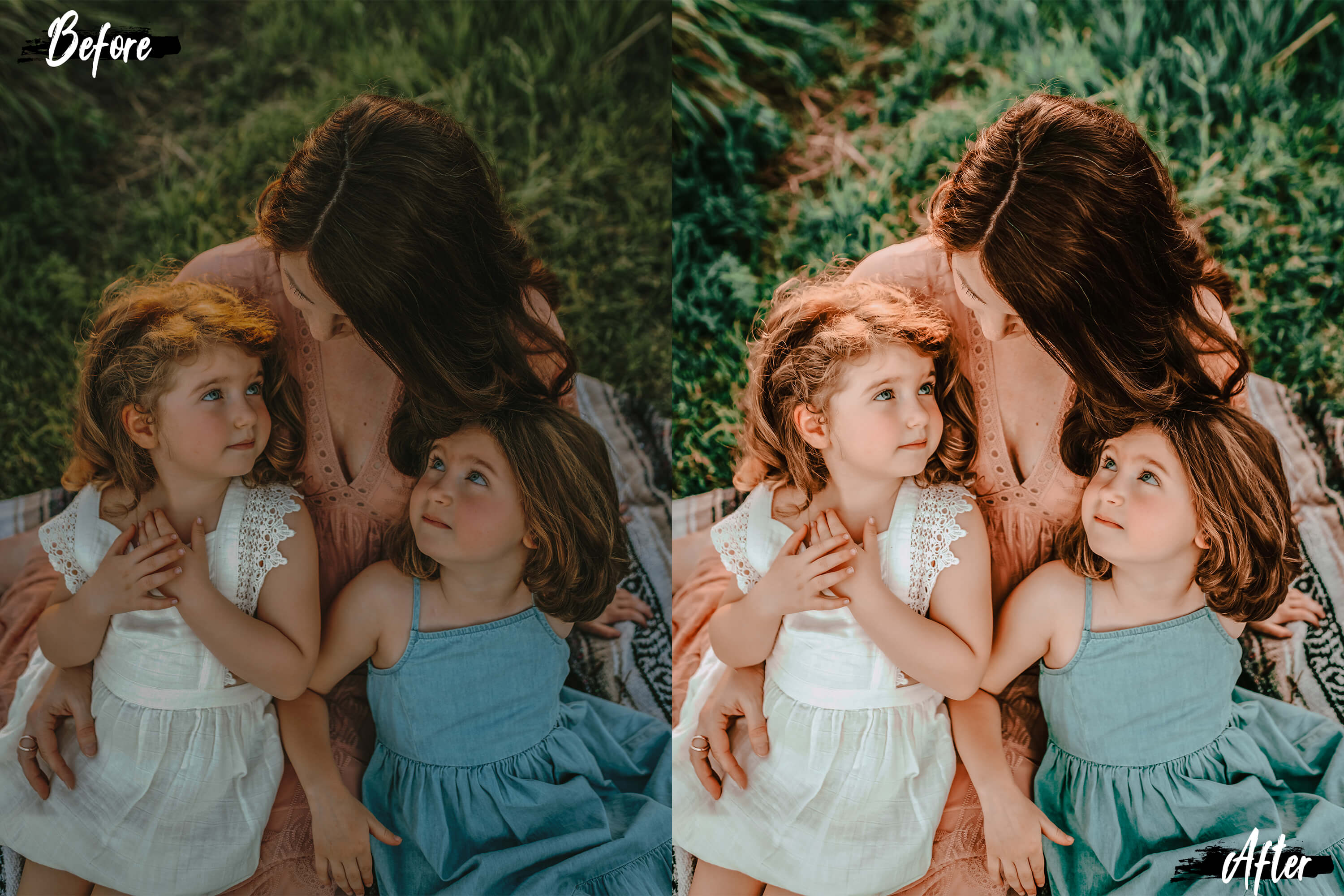 10 Family & Kids Photoshop Actions, ACR and LUT presets example image 10