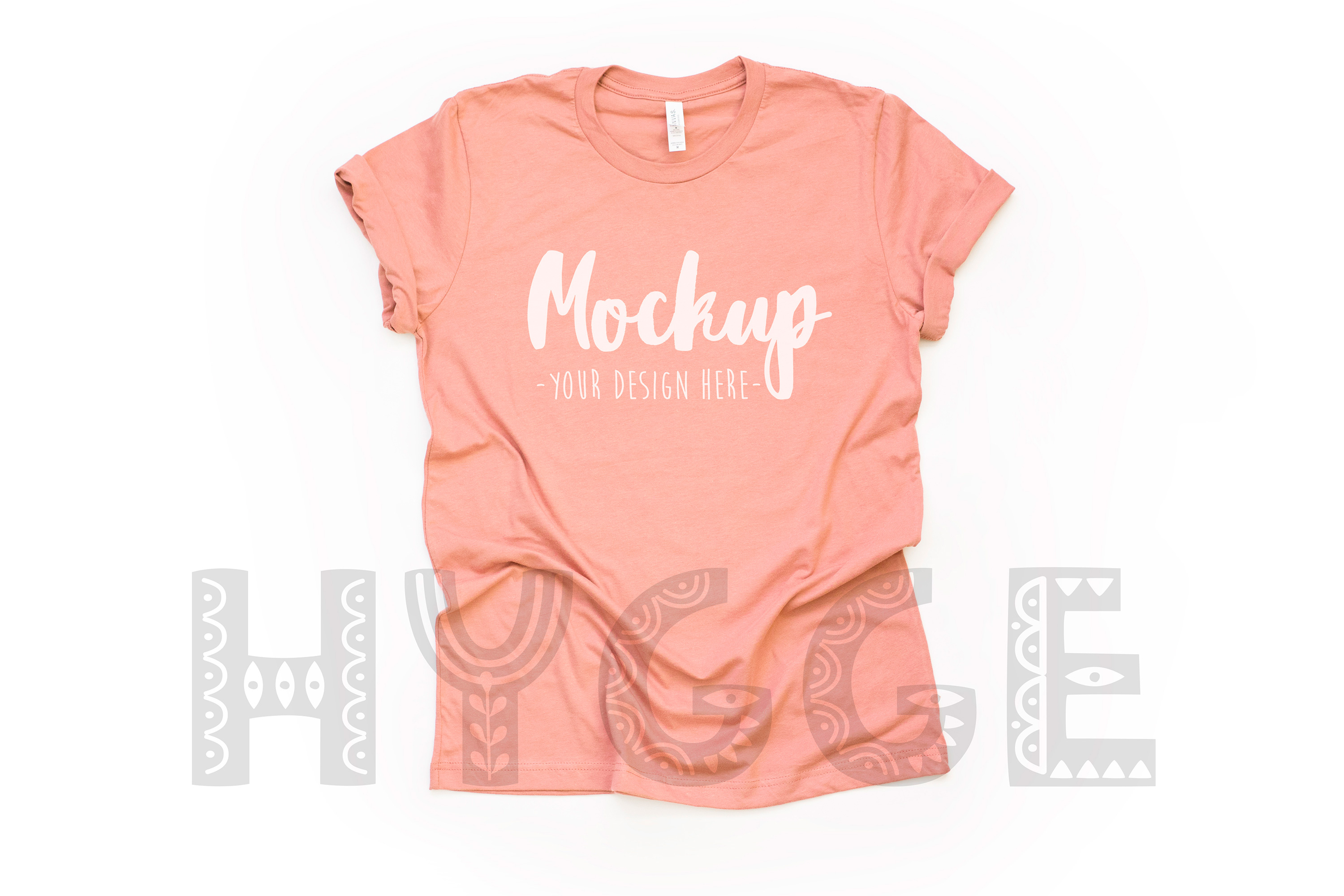 Tshirt Mockup Bundle Bella Canvas 3001 Basic tshirt mockups example image 28