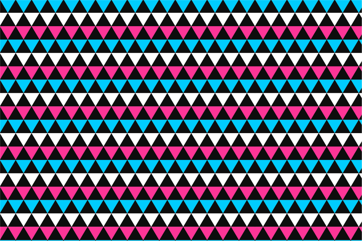 Geometric seamless color patterns. example image 9