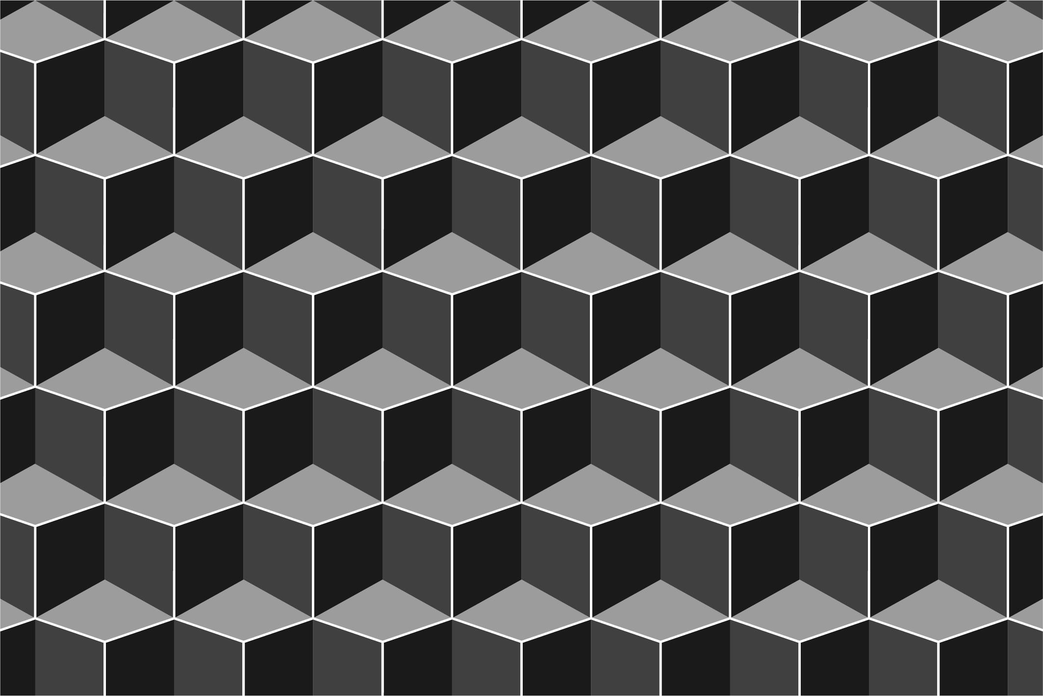 Dark seamless geometric textures example image 4