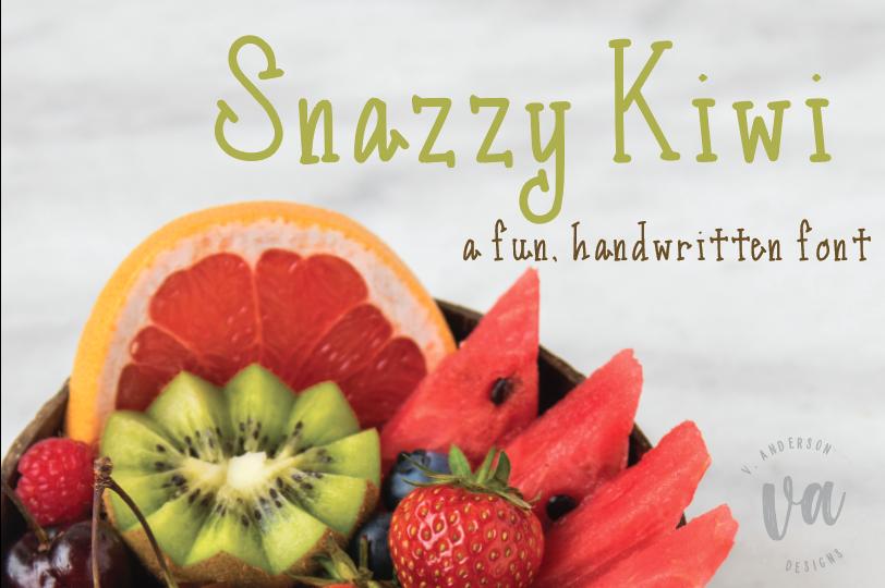 Snazzy Kiwi example image 1