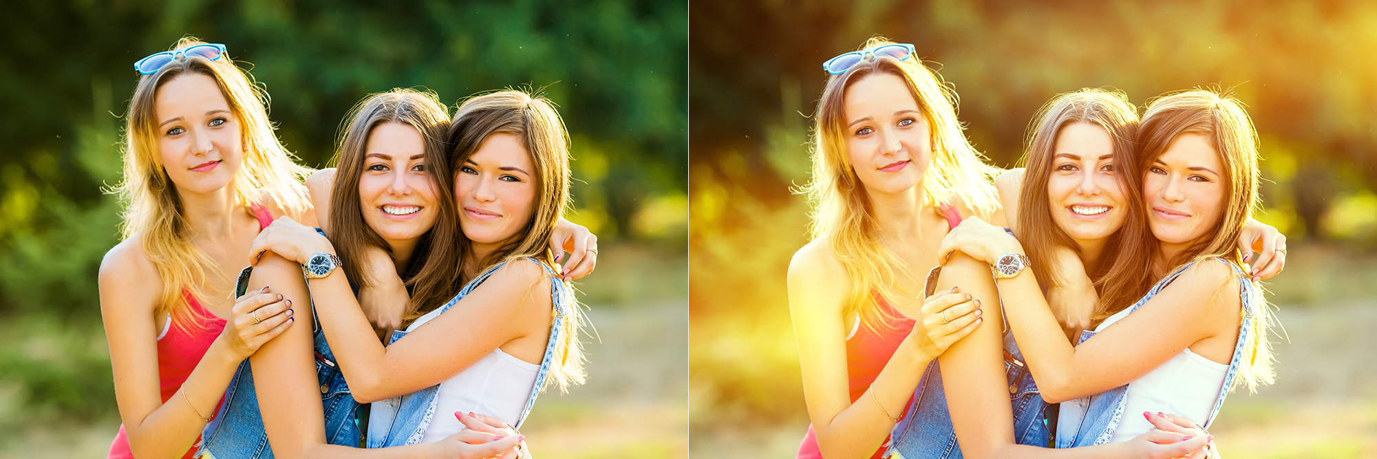 122 Light Leaks Photoshop Actions Collection (Action for photoshop CS5,CS6,CC) example image 2