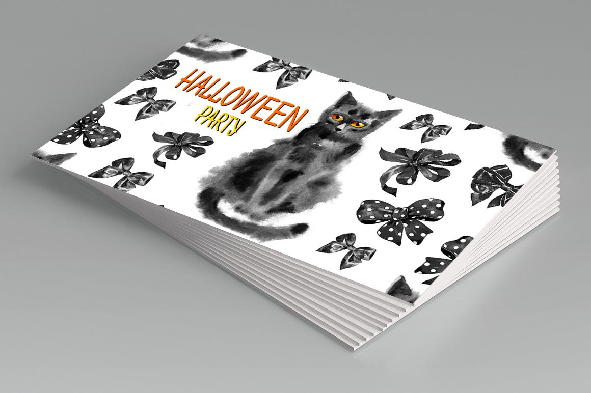 Watercolor Halloween 2 example image 3