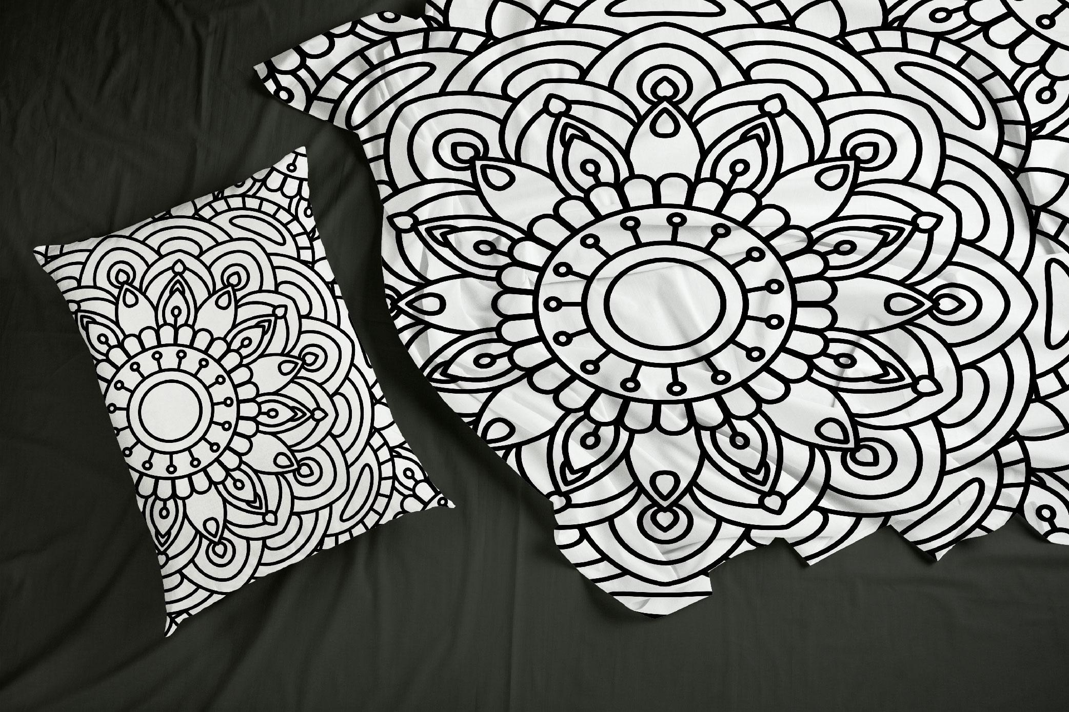100 Mandalas Seamless Patterns example image 4