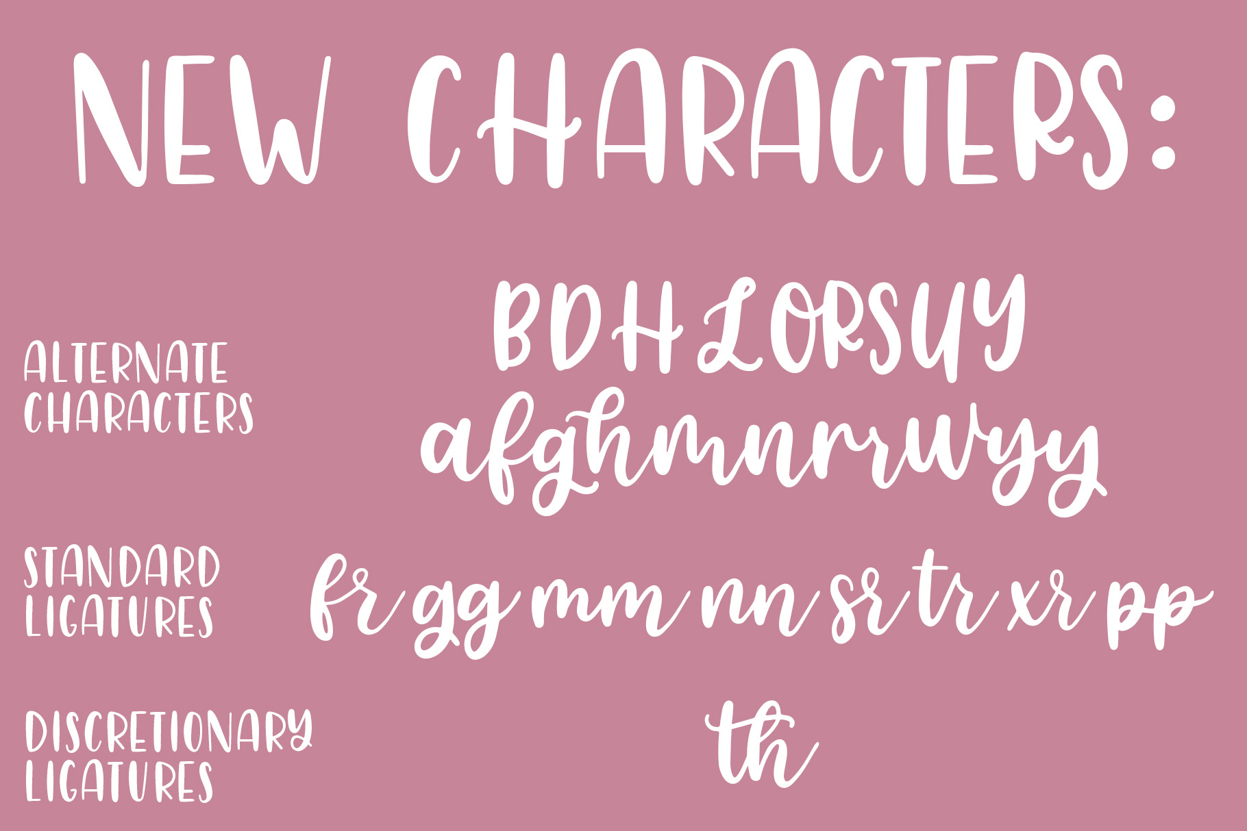 Lovely Letters Handwritten Font Duo, Script Font example image 6