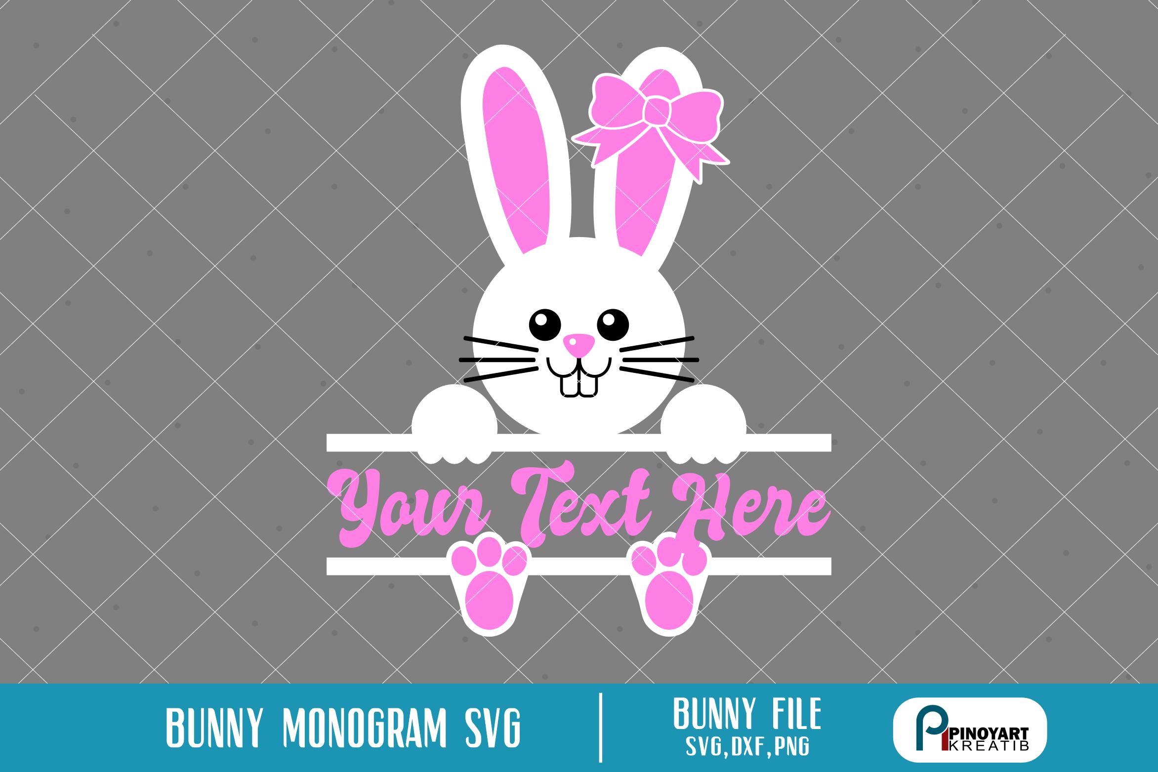 Bunny Svg Bunny Svg File Easter Bunny Svg Easter Svg Bunny