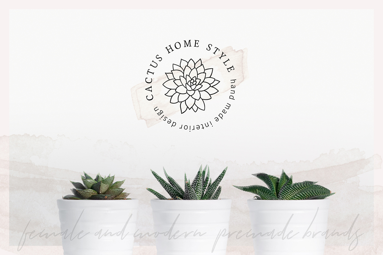 So Flowery Branding Kit + Watercolours example image 5