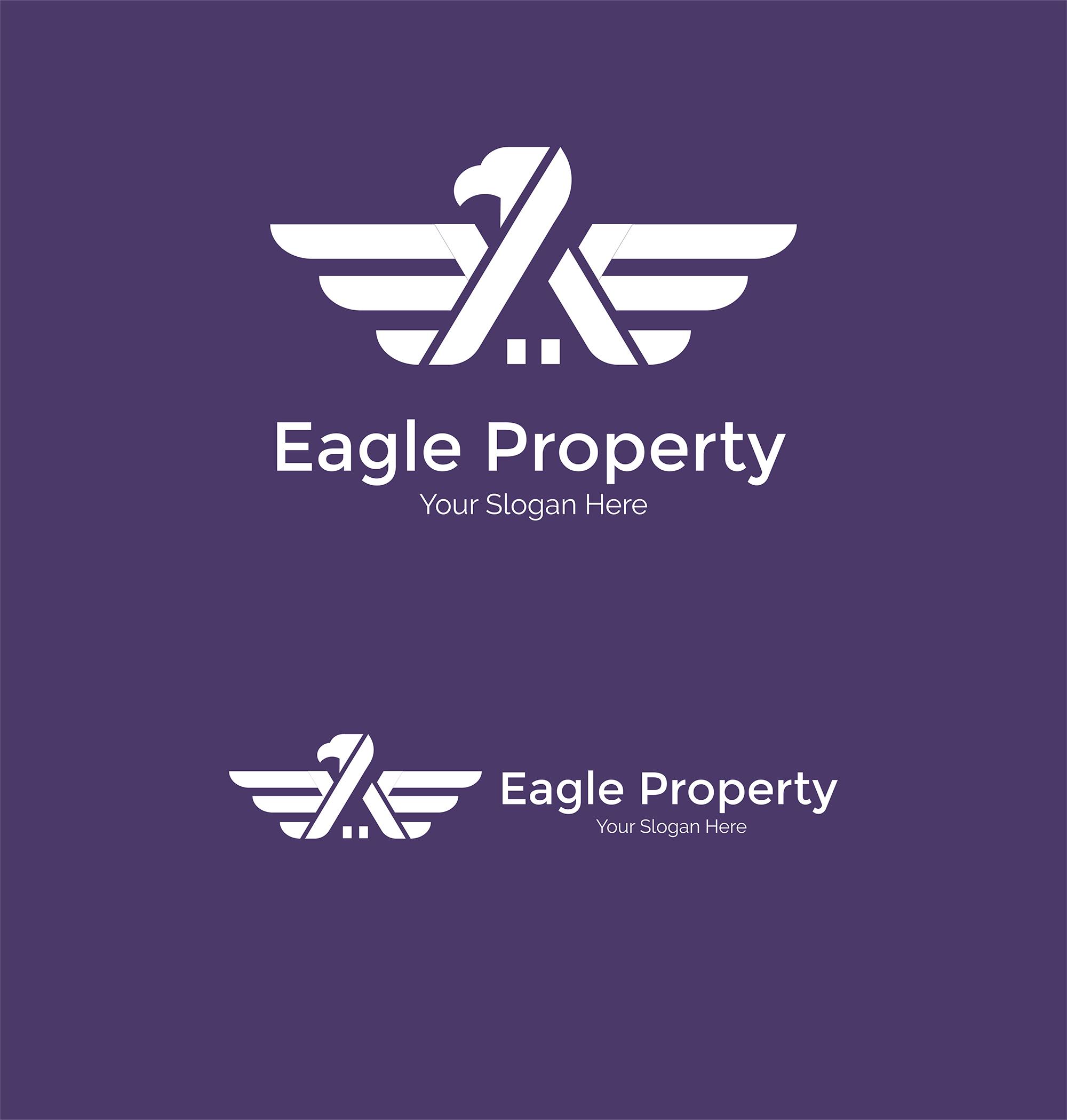 Eagle Construction Logo - Animal logo example image 4